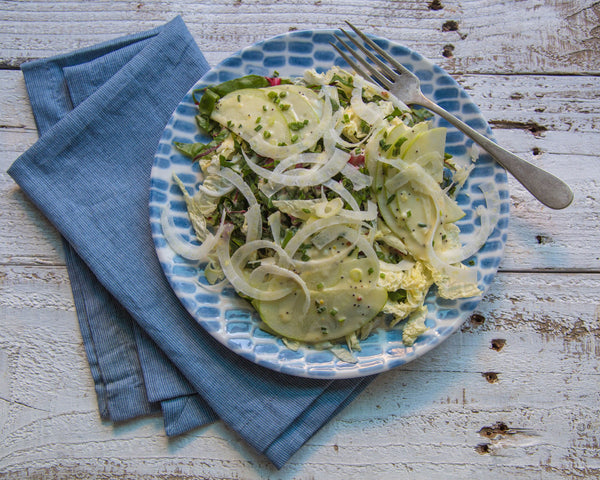 Apple Poppy Salad