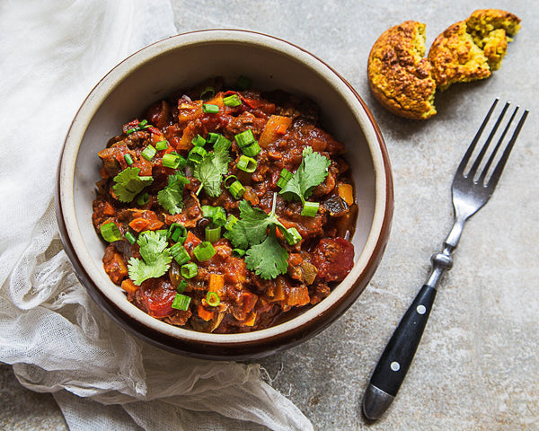 Beef and Vegetable Chili