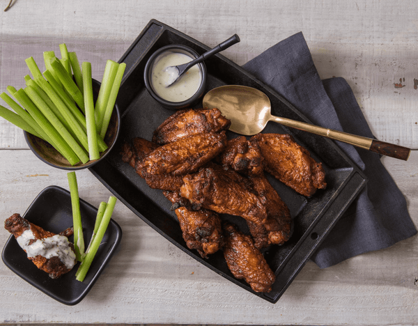 Buffalo Wings w/ Celery Sticks and Ranch