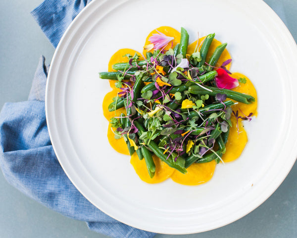 Beet and Green Bean Salad