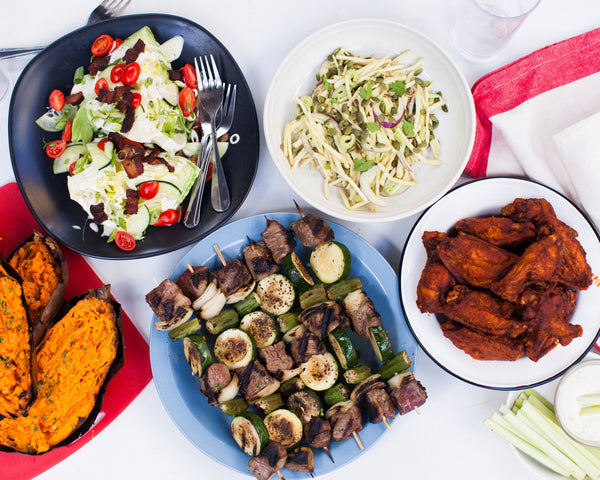 4th of July Party Feast (Serves 4-6)