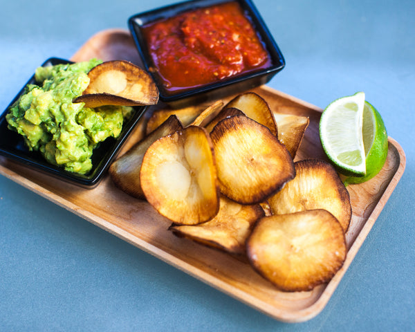 Yuca Chips w/ Guacamole and Salsa