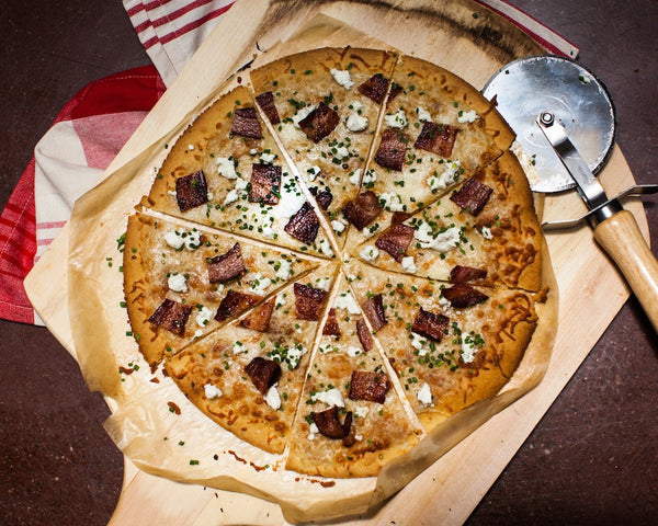 Bacon and Chive Pizza