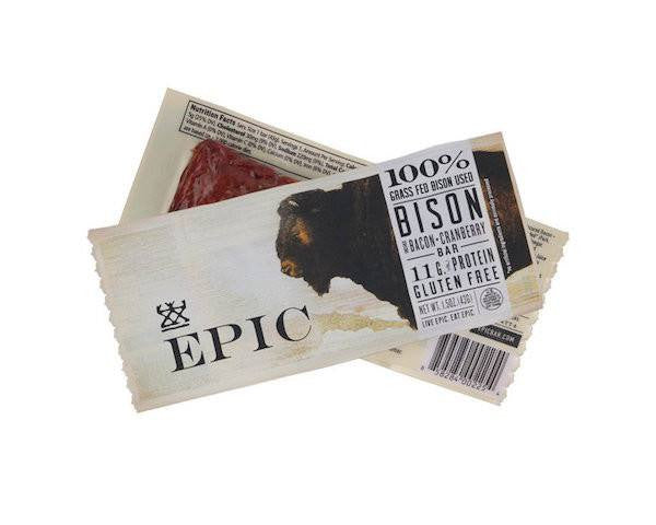 Bison Bacon Cranberry Bar
