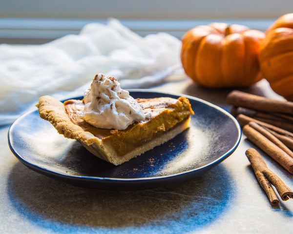 Paleo Pumpkin Pie (1 Slice)