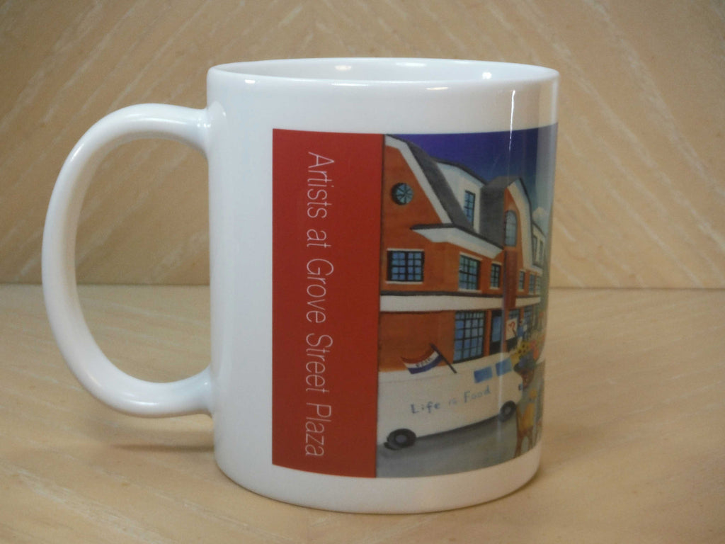 Artists at Grove Plaza Coffee Mug 11oz.