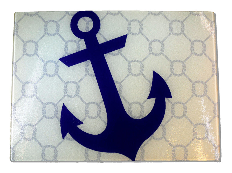 Anchor and Rope Cutting Board