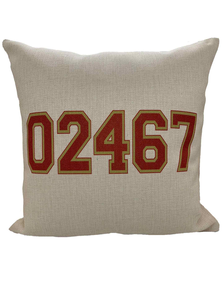 PolyCanvas Home and Away Pillow
