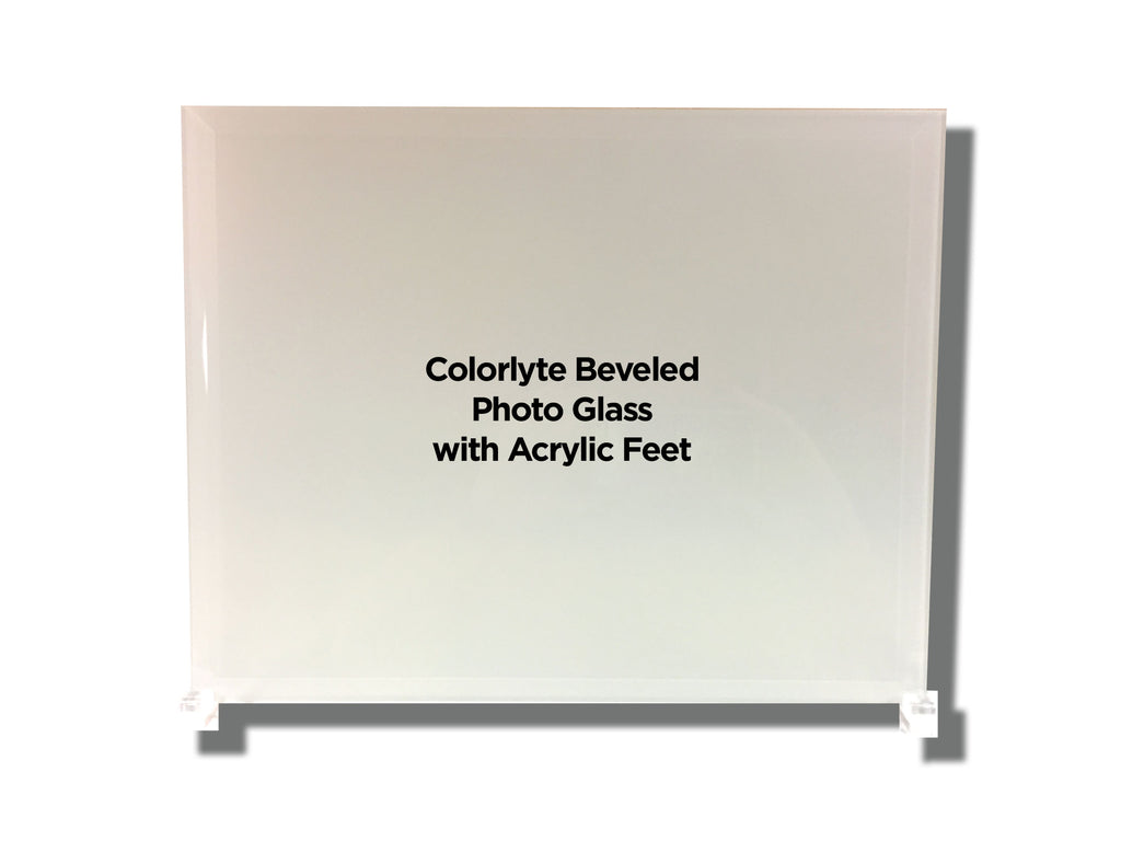 Beveled Glass Photo Panel