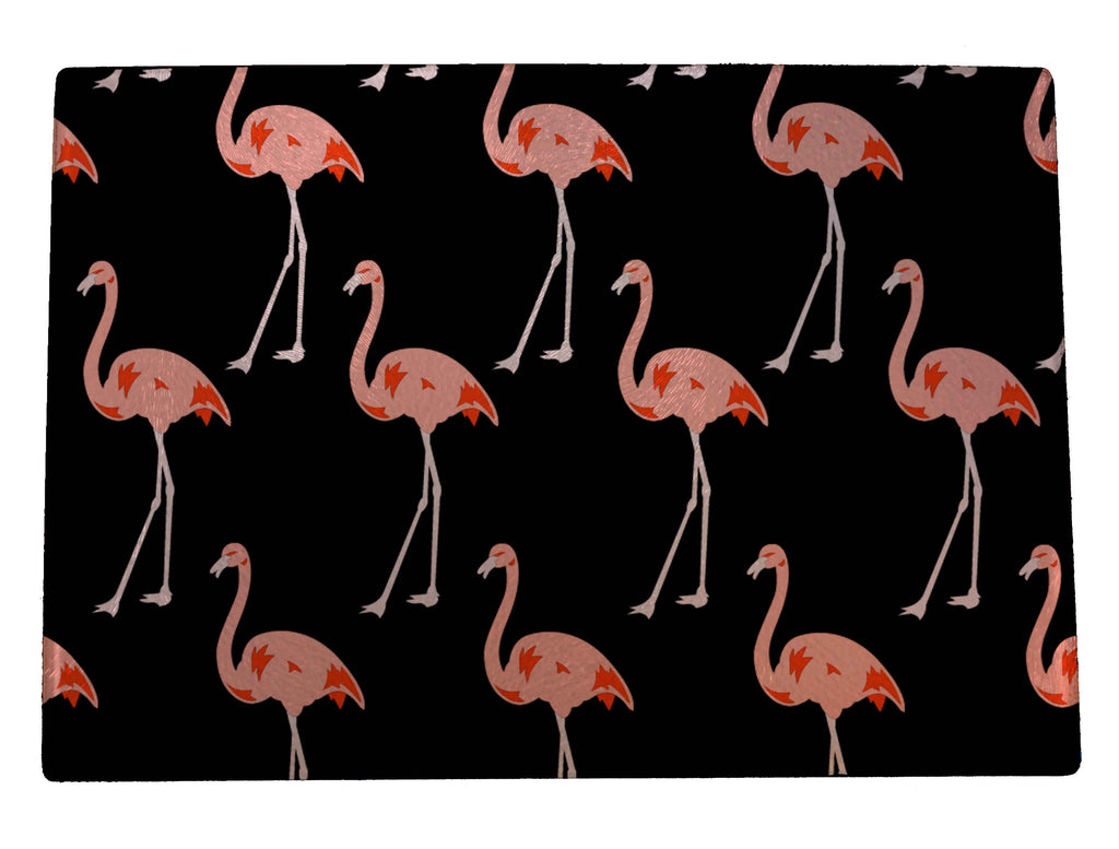 Flamingos Cutting Board