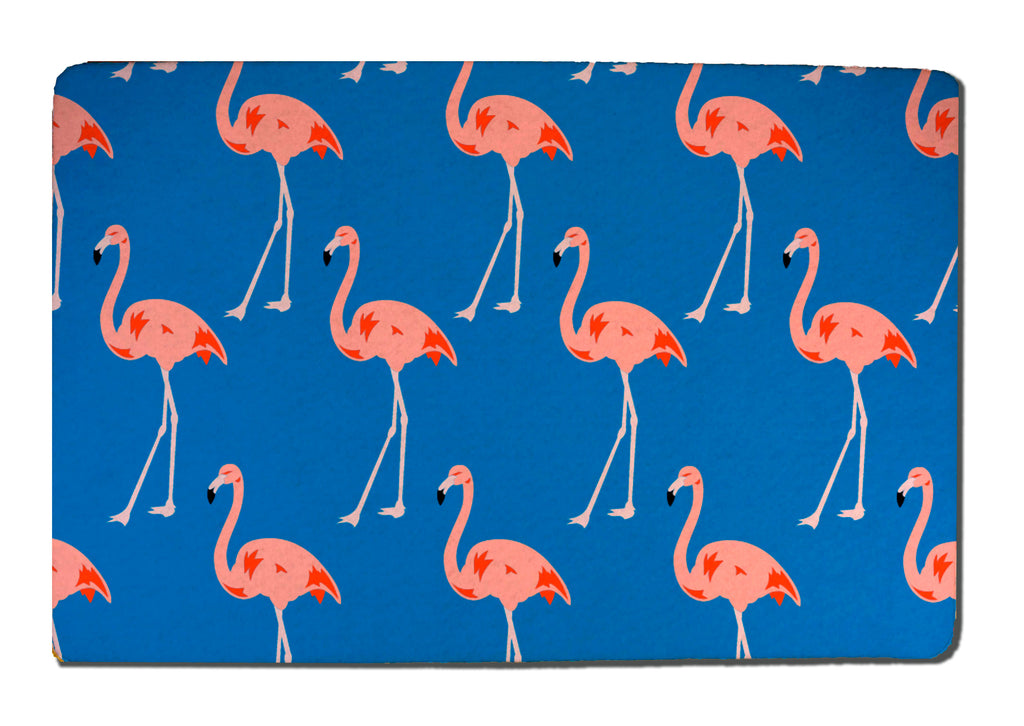 Flamingos Rubber-Backed Felt Placemat