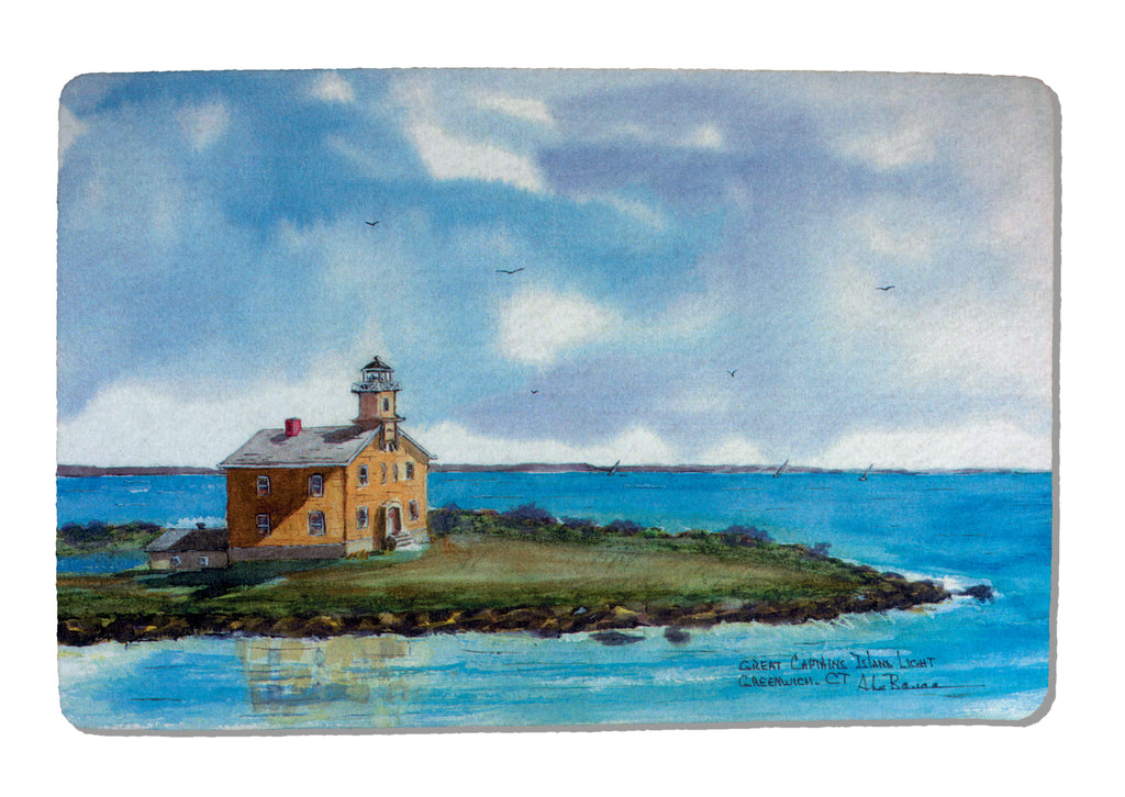 Great Captains Light Rubber-Backed Felt PLACEMAT