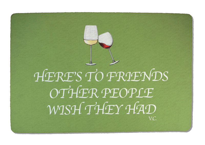 Friends Rubber-Backed Felt Placemat