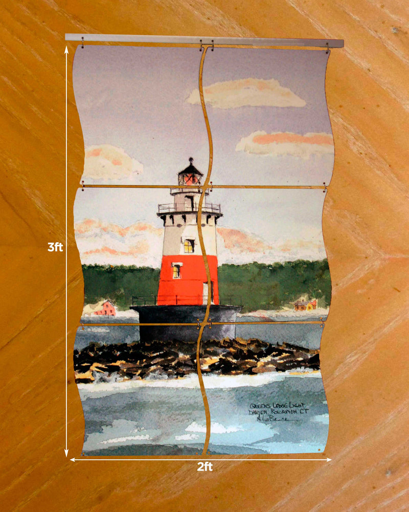 Greens Ledge Lighthouse Mural