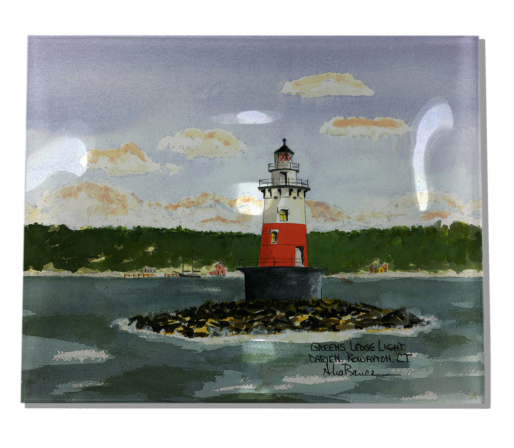 Greens Ledge Light Acrylic Tray
