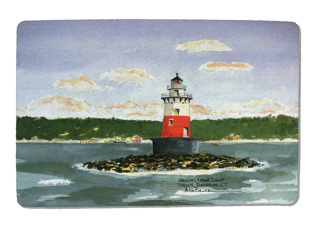 Greens Ledge Light Rubber-Backed Felt PLACEMAT