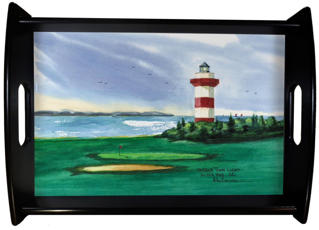 Harbour Town Light SERVING TRAY