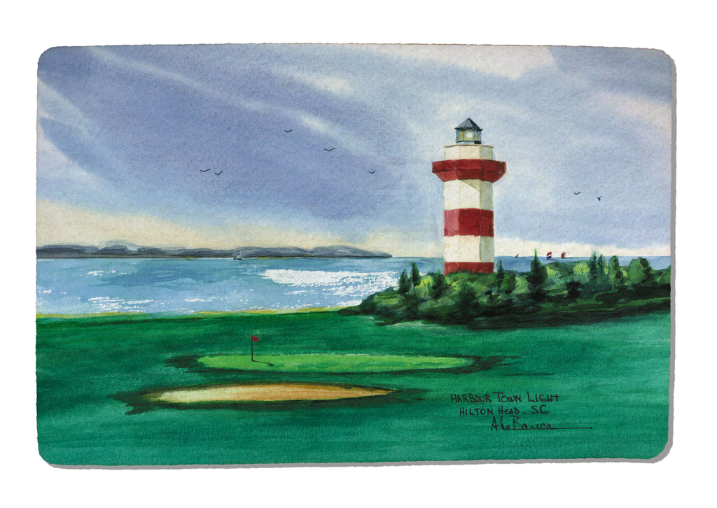 Harbour Town Light Rubber-Backed Felt PLACEMAT