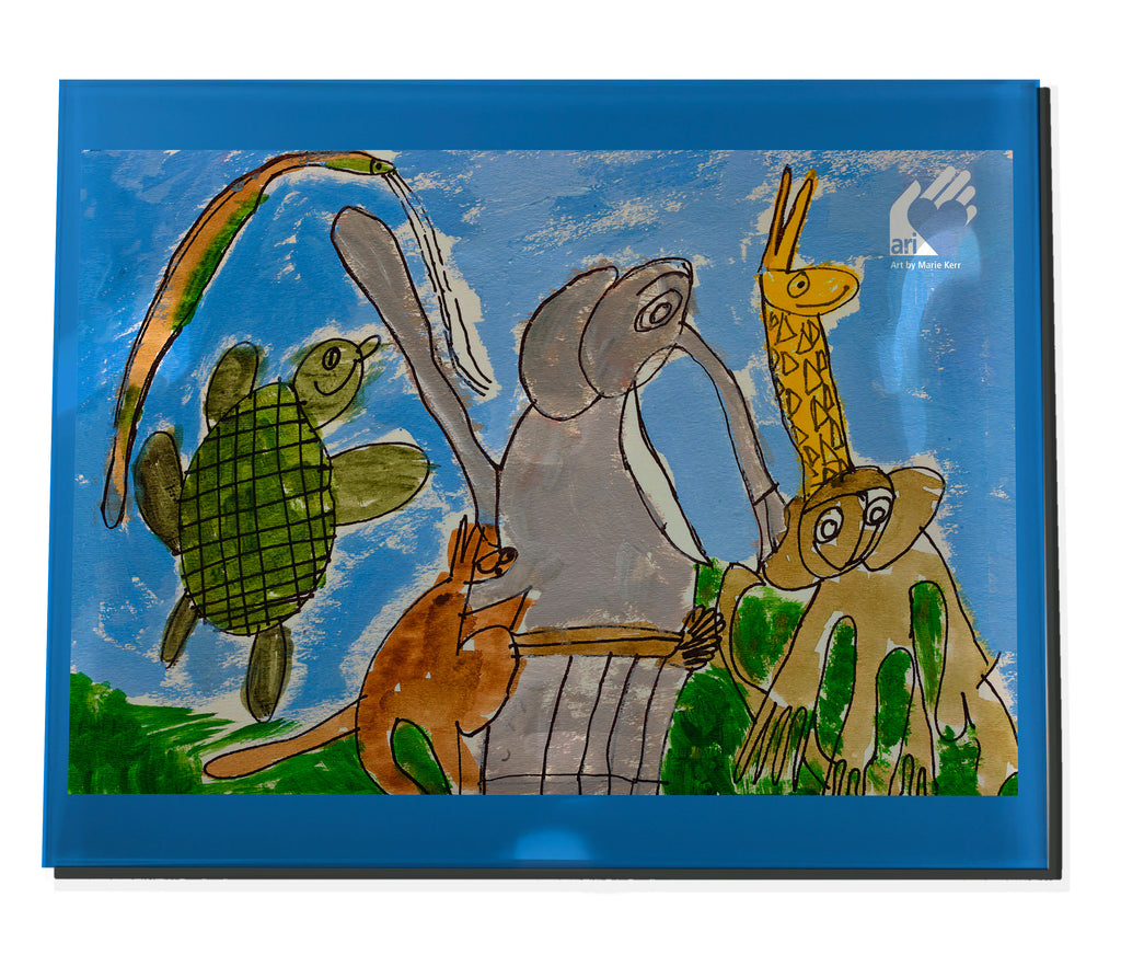 Marie K Animals Acrylic Tray