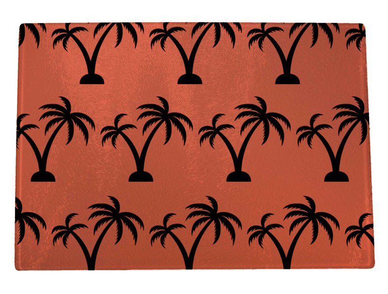 Palm Trees Cutting Board
