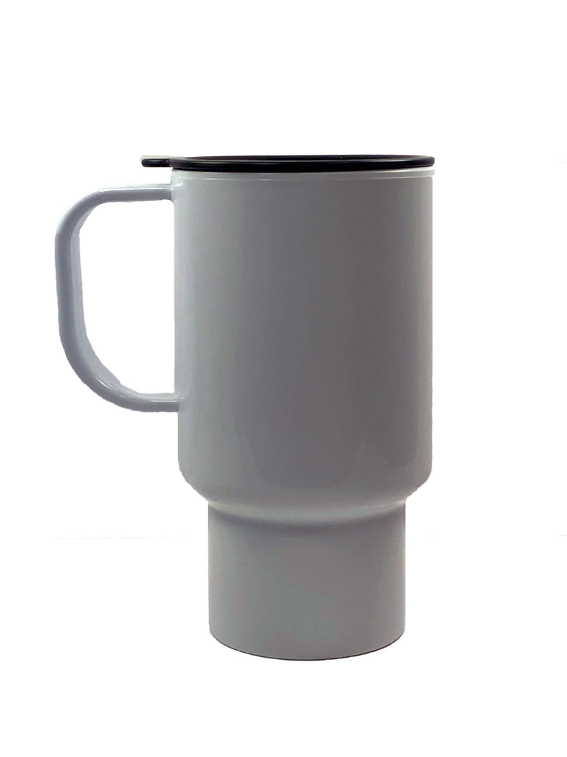 18oz. Polymer Travel Mug with Handle