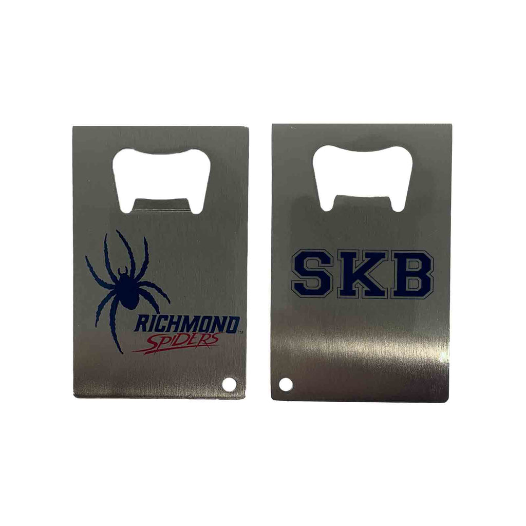 Stainless Steel Bottle Opener - School Logo
