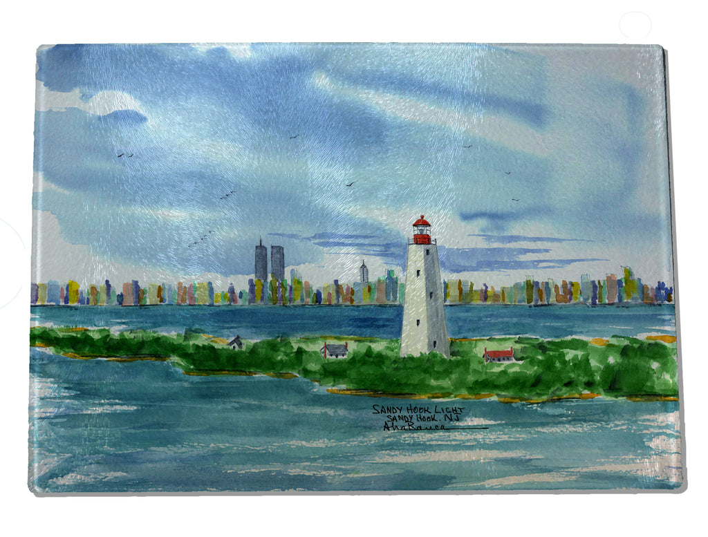 Sandy Hook NJ Light CUTTING BOARD