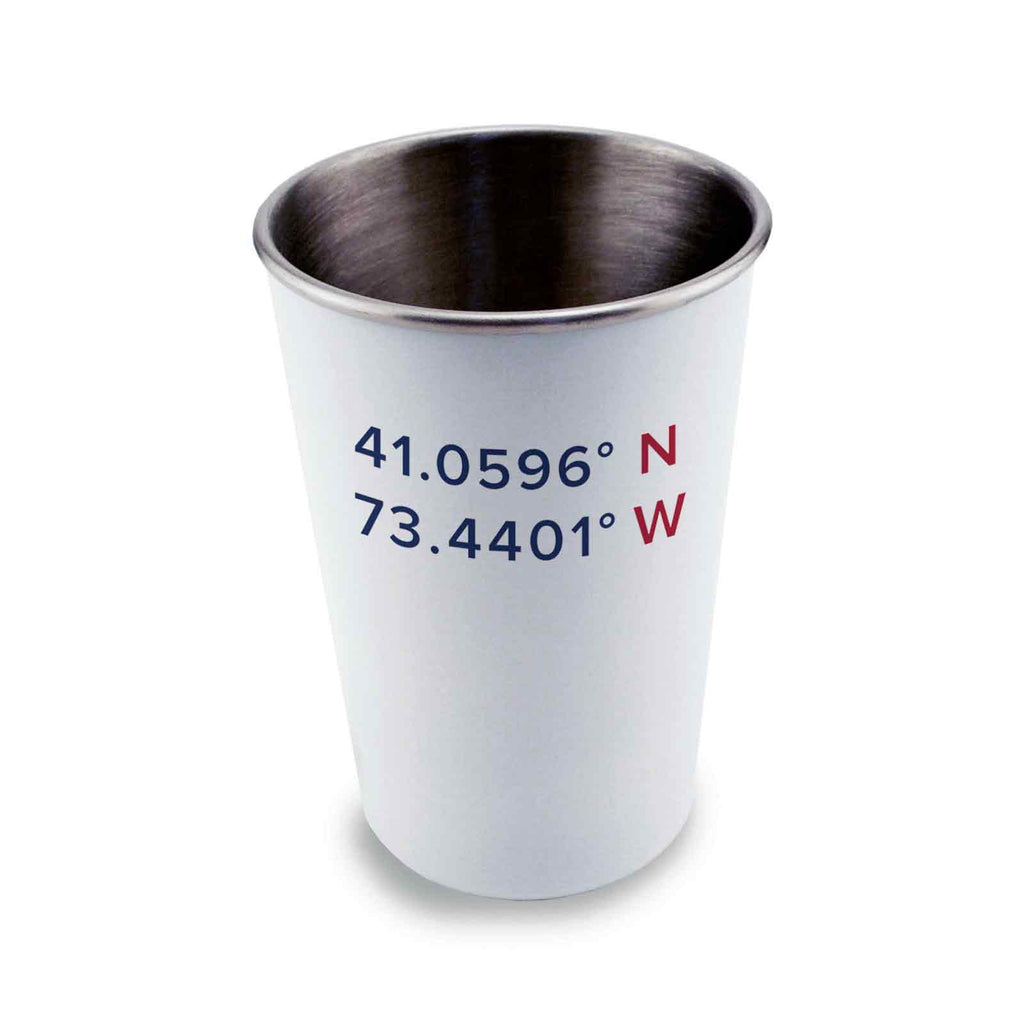 Stainless Steel Pint Glass 17oz - Roton Coordinates