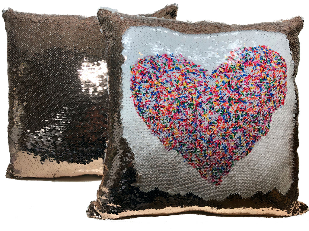 Sequin Flip Pillow