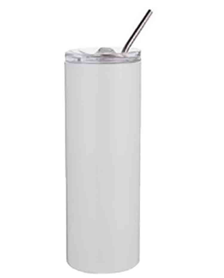 Tall Drink Tumbler with Straw 20oz