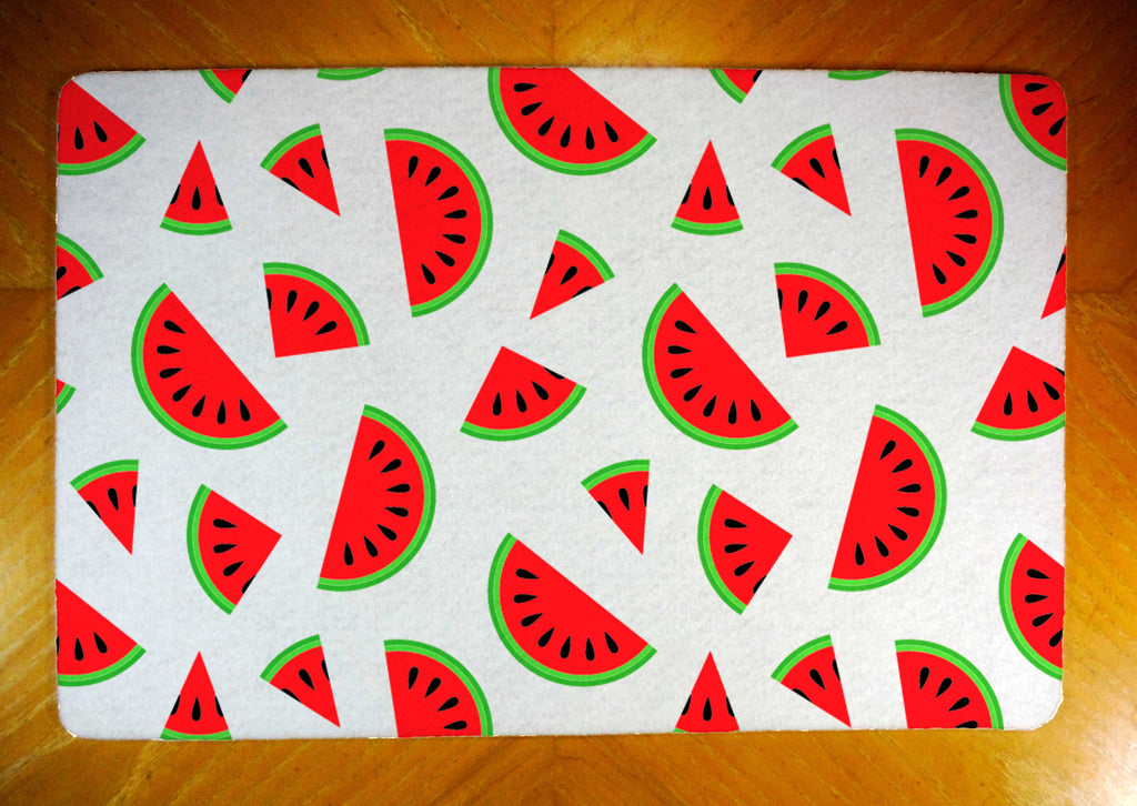 Watermelons on Rubber-Backed Felt Placemat