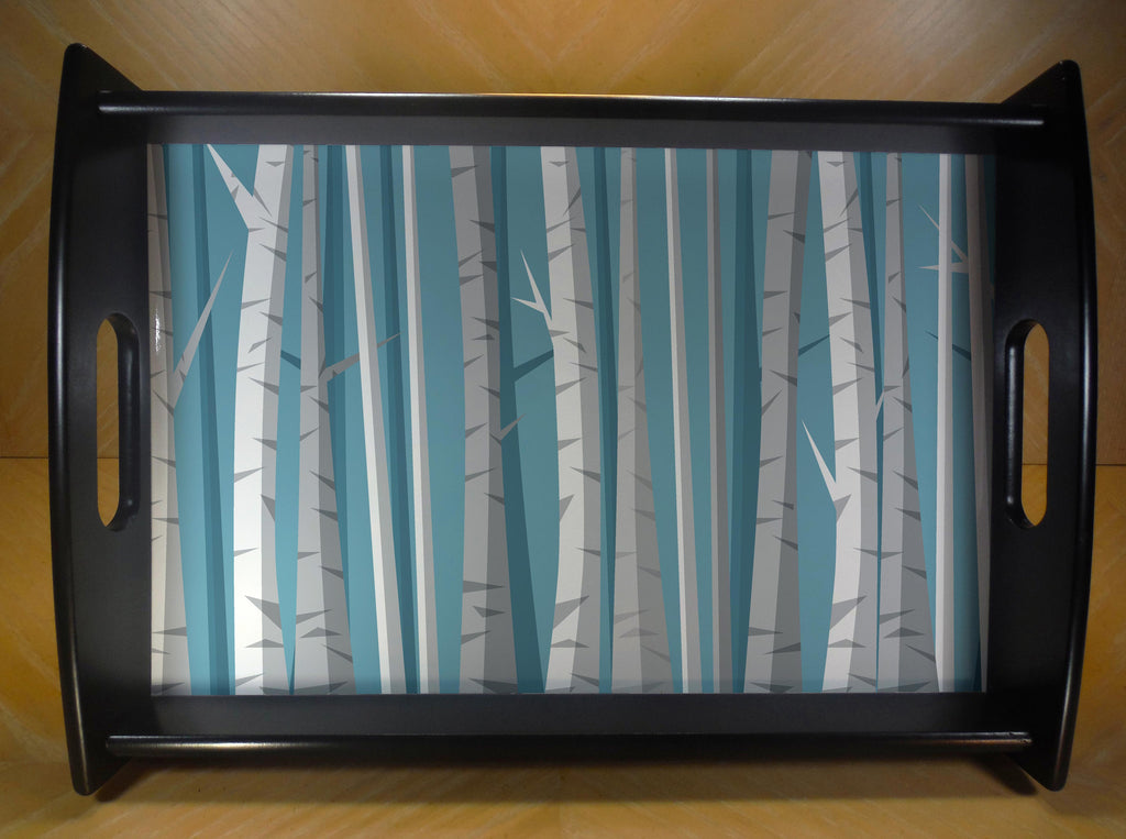 Winter Birch Serving Tray