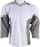 Hockey Plus practice jersey White/Grey
