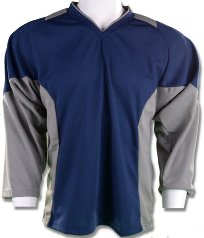 Hockey Plus practice jersey Navy/Grey