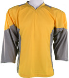 Hockey Plus practice jersey Yellow/Grey