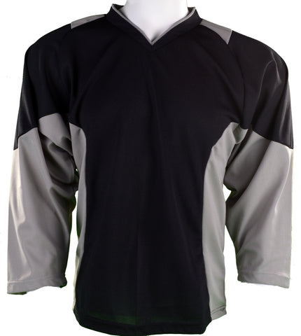 Hockey Plus practice jersey Black/Grey