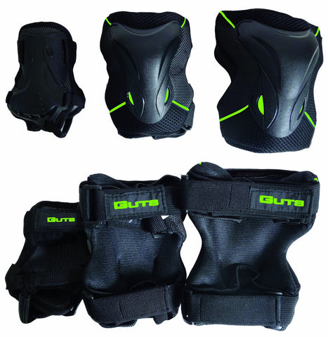 Guts Senior protective gear set PW318GN ( Spring 2018 )