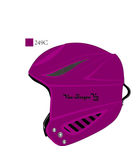 Van Bergen Junior ski Helmet PW-901 Purple