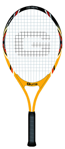 Guts Tennis Racket T-2510 Senior Yellow