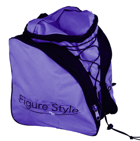 Figure Style Back Pac Skate Bag Purple