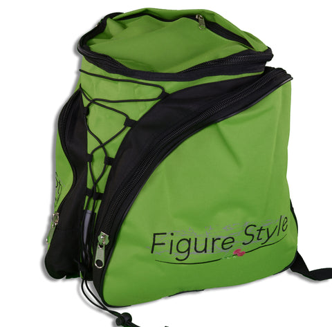 Figure Style Back Pac Skate Bag Green