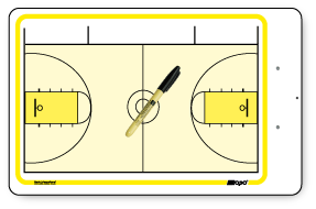 American Basketball - Deluxe clipboard