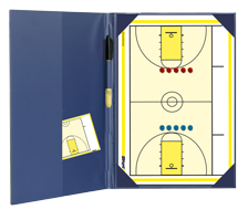 American Basketball - Magnetic and dry erase two-way folder