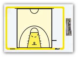 International Basketball - Econo clipboard