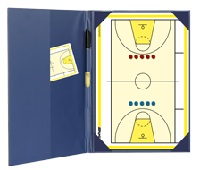 International Basketball - Magnetic and dry erase two-way folder