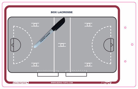 Box lacrosse - Deluxe clipboard
