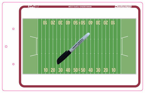 Canadian Football - Deluxe clipboard