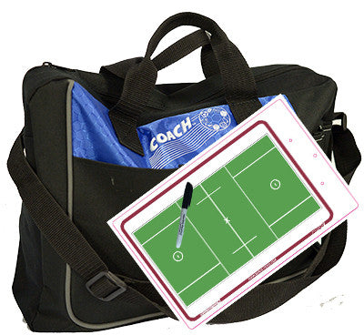 Field lacrosse - Coach bag and deluxe clipboard kit