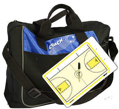 American Basketball - Coach bag and deluxe clipboard kit