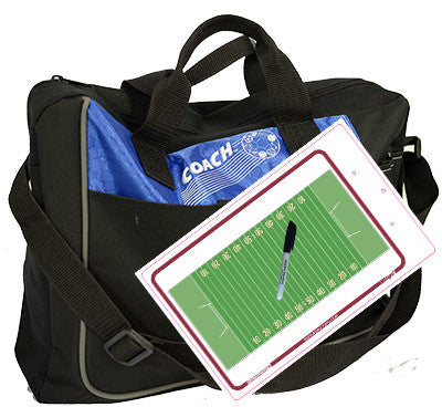 Canadian Football - Coach bag and deluxe clipboard kit